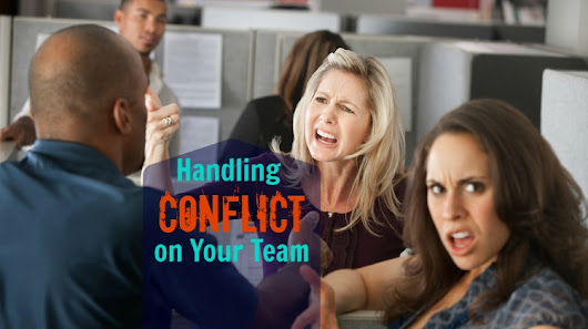 Handling Conflict on Your Team