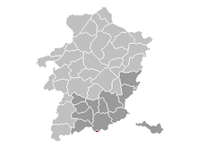 Vị trí của Herstappe năm Limburg