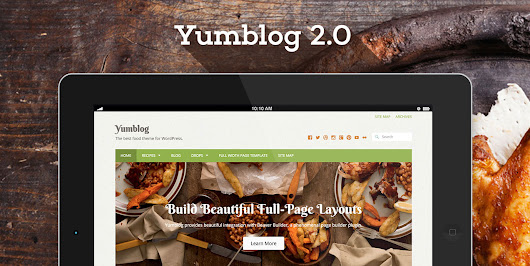 Build a Powerful, User-Driven Recipe Website with Yumblog 2.0 - UpThemes