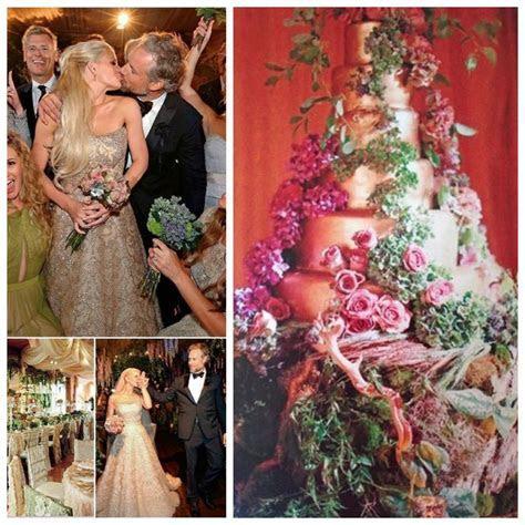 Jessica Simpson and Eric Johnson Wedding Cake   Famous