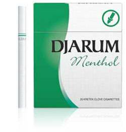 English: Djarum Menthol
