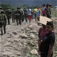 Tropas colombianas en la frontera
