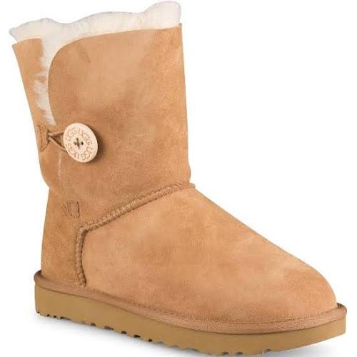 UGG Australia Bailey Button Boots, Chestnut, 8 US / 39 EU