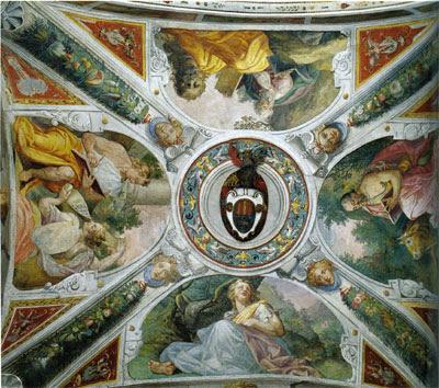 File:Pablo de Céspedes, Decorazione della volta, 1570 c., trinità dei monti.jpg