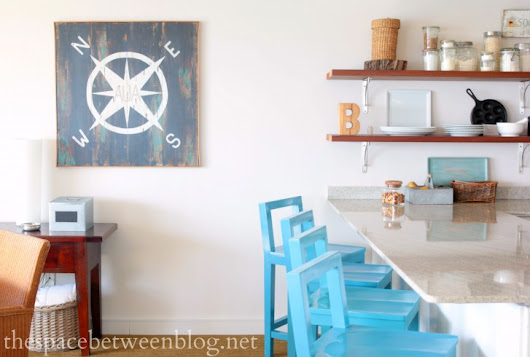 waterside home tour - the space between