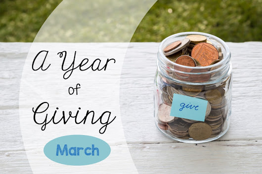 A Year of Giving :: March – Disaster Relief and Community Development