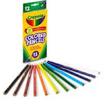 CYO 684012 Crayola Presharpened Colored Pencils CYO684012