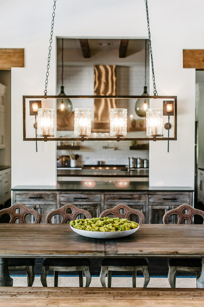 Linear Chandelier. Rustic Linear Chandelier. Transitional Rustic Linear Chandelier. Linear Chandelier Ideas. Dining room Linear Chandelier. #LinearChandelier #RusticLinearChandelier Geschke Group Architecture.