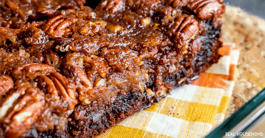 Pecan Pie Brownies ⋆ Real Housemoms