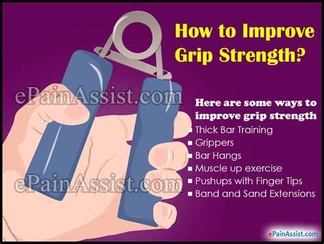 improve grip strength