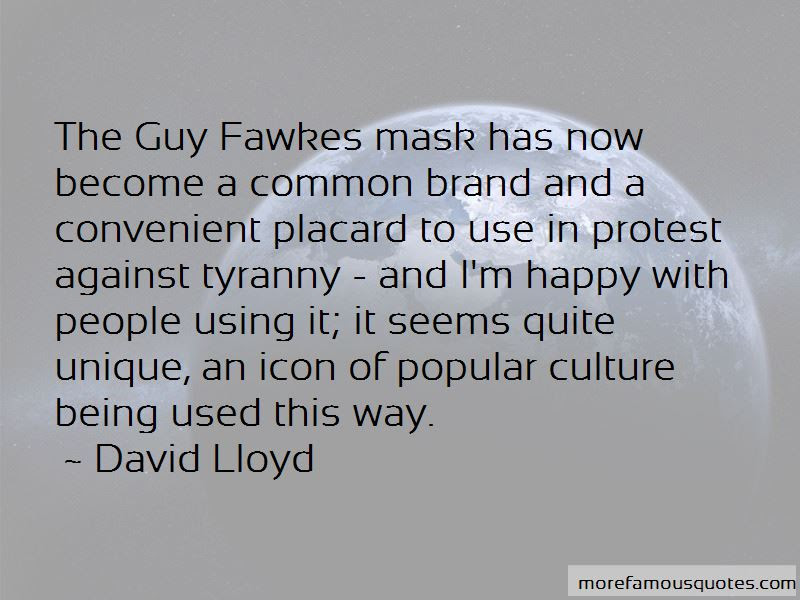 Guy Fawkes Mask Quotes Top 1 Quotes About Guy Fawkes Mask From
