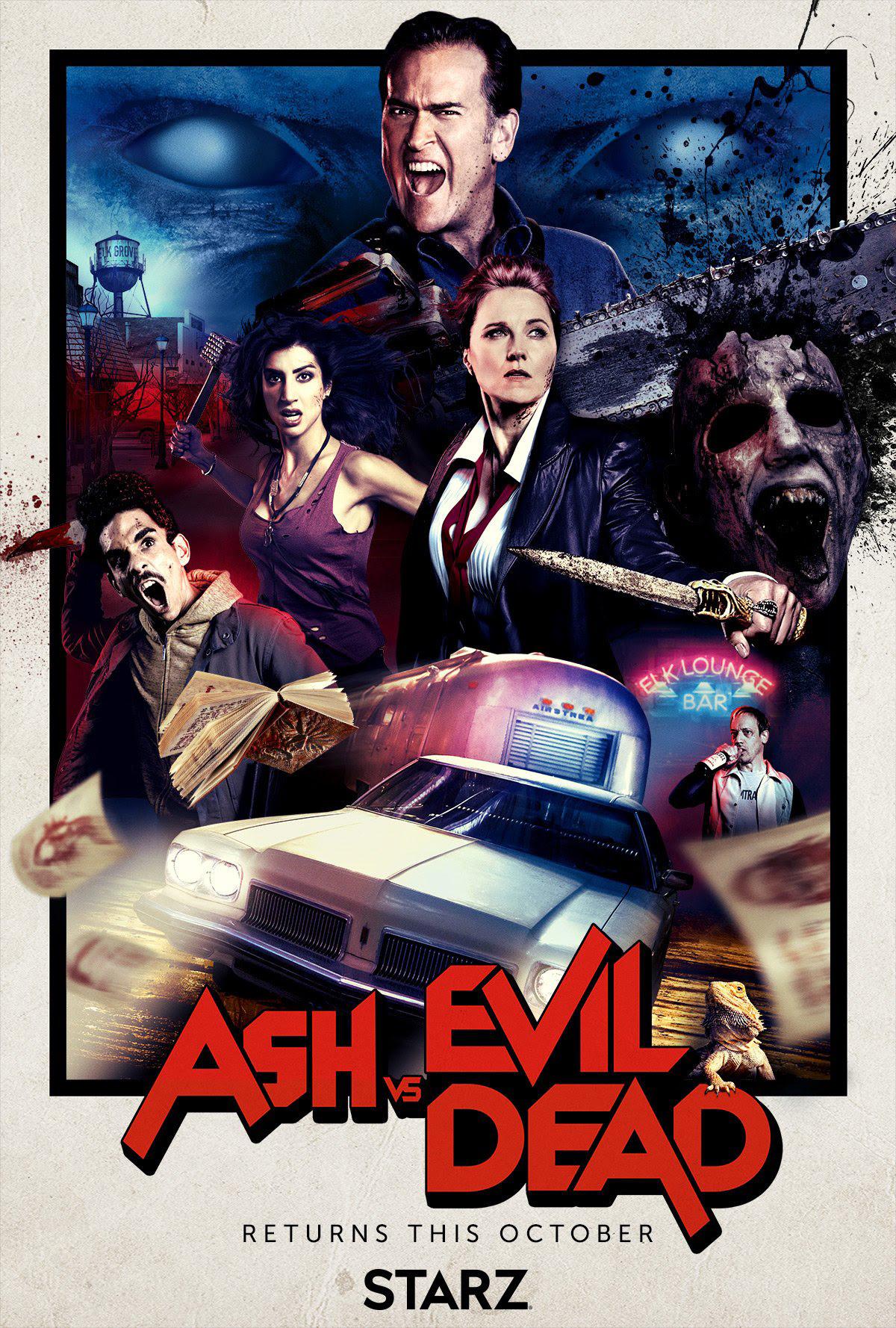 The Reviewinator Ash Vs Evil Dead Season 2 The Back Row