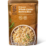 Original Whole Grain Brown Rice Microwavable Pouch - 8.8oz - Good & Gather