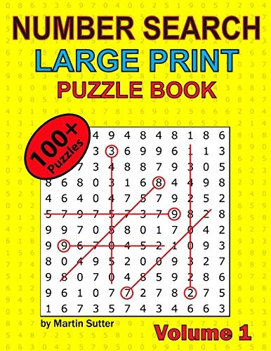 Download Free  Number Search - Large Print