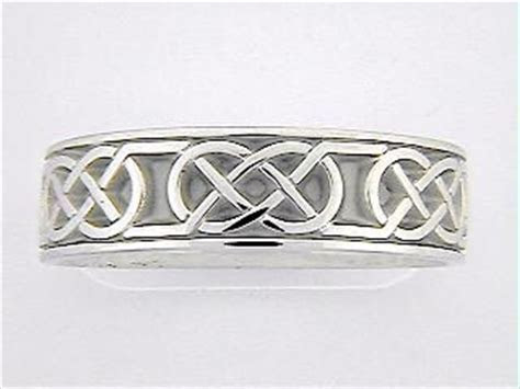 Studio 311 Celtic Wedding Rings Wide Love Knot 11293