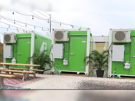 Couple turns shipping containers into organic farms | BioLinked Blog