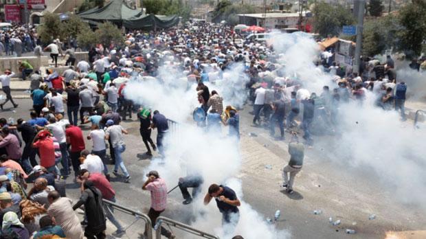 Image result for three dead in al aqsa clashes