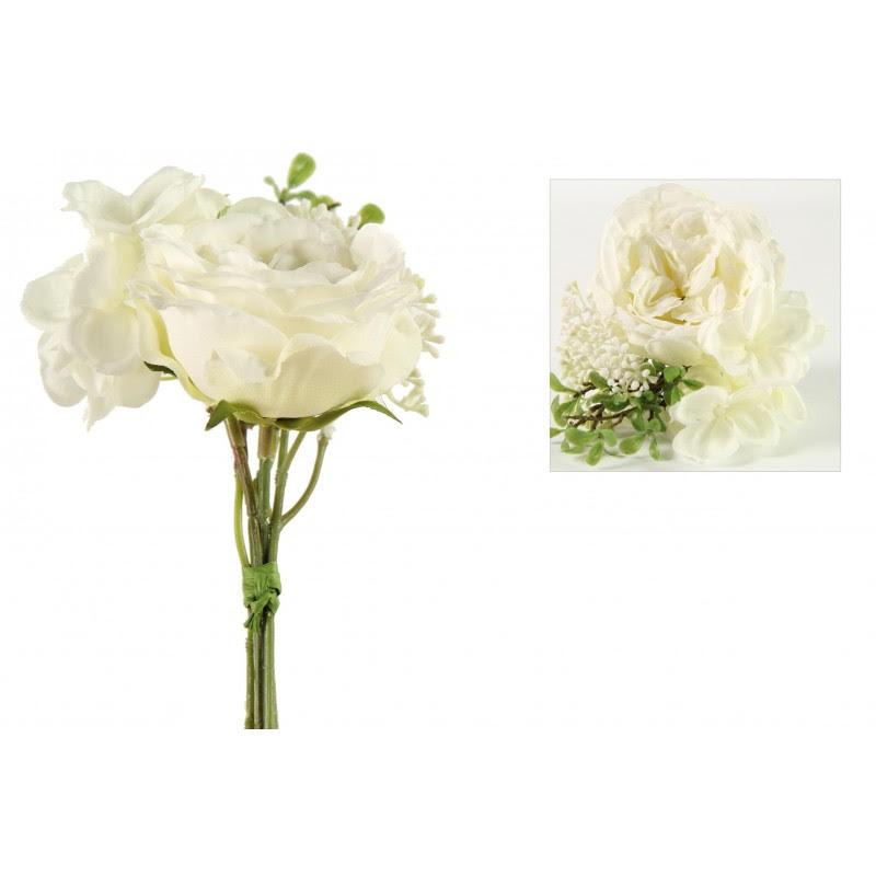 Flor Rosa Blanca 20h Cm Bparts