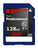 Komputerbay 128ギガバイト クラス10 SDXC UHS-I 600X 高速メモリーカード 60メガバイト/秒の書き込み 90メガバイト/ s の読み取り 128 GB