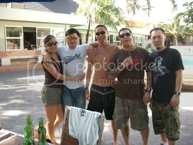 Joyce, Sharin, Don, Myself and Eddy