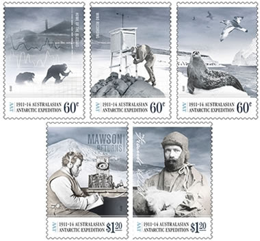 polar expedition stamps