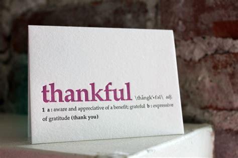 Stationery A ? Z: Thank You Cards