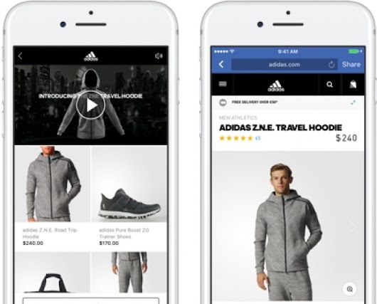 Facebook launches collection ad format for retailers - Mobile Marketing