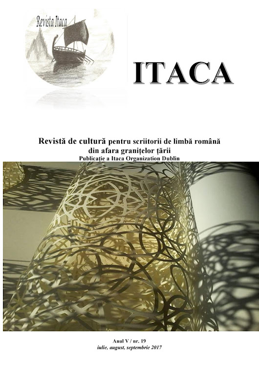 Itaca nr 19, Anul V, iulie, august, septembrie 2017