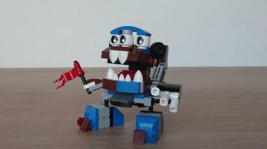 Lego Mixels Series 7 Kuffs Mixadel Murp Instructions Lego 41554