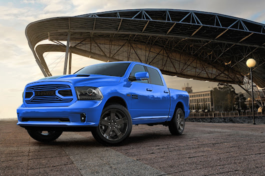 2018 Ram 1500 Gains Hydro Blue Sport Special Edition Model - Motor Trend