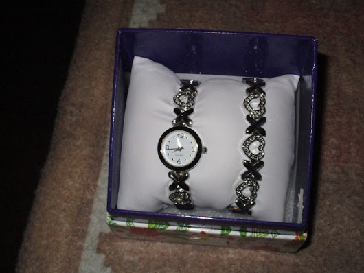 Lady's Watch and Bracelet