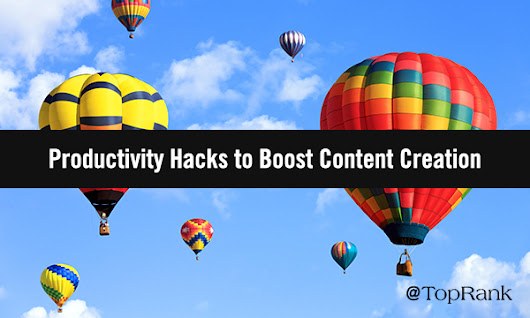 5 Productivity Hacks to Bring Content Creation From Failing to Flying High - Sable Content