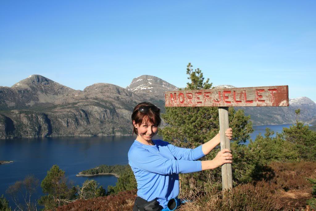 Jeg på Norefjellet, hi-hi!