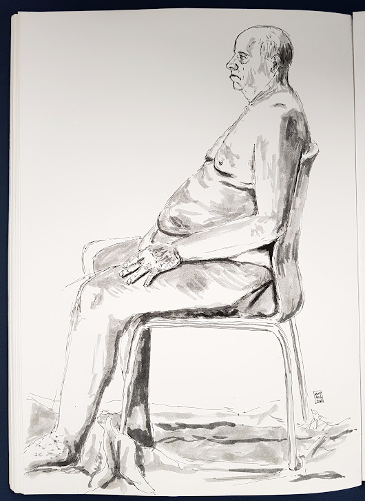Life Drawing with @LondonDrawing