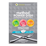 Method Power Dish Free & Clear Scent Pods Dishwasher Detergent 20 pk - Pack of 1
