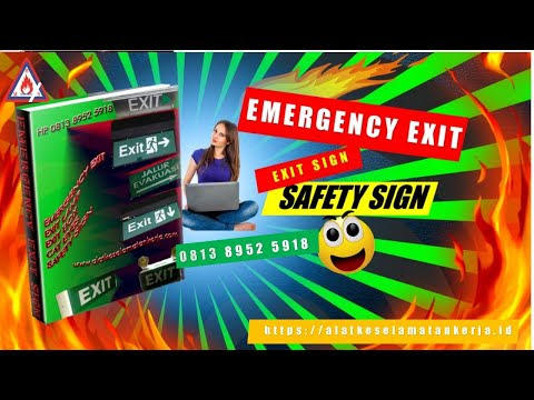 EMERGENCY EXIT LAMP | EXIT SLIM | EXIT BOX