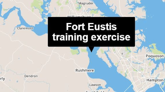 Fort Eustis training exercise will include flares, blank ammunition