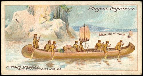 Franklin Crossing Lake Prosperous, 1819-1822
