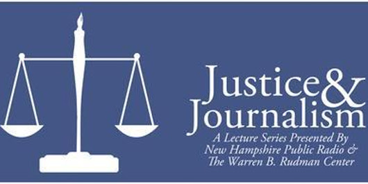 Justice & Journalism Speaker Series with Quil Lawrence