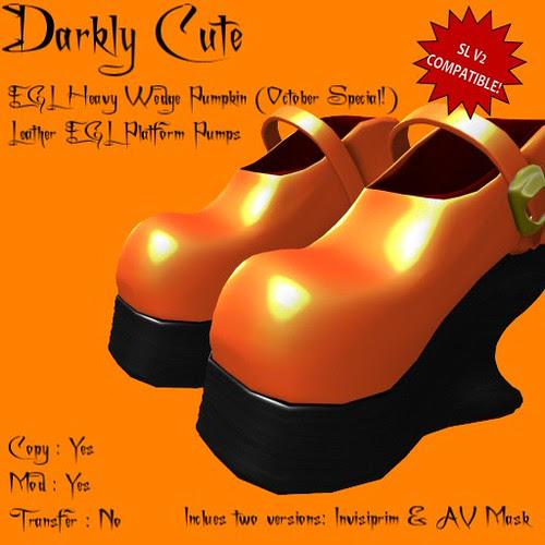 DC - Shoes - EGL Heavy Wedge Pumpkin