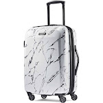 """American Tourister Moonlight Hardside Spinner Luggage - 20"""" - Marble"""