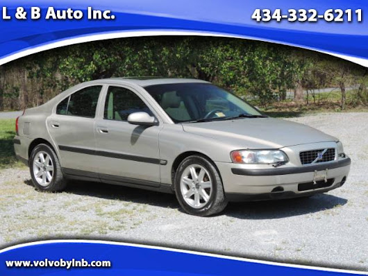 Used 2002 Volvo S60 2.4T for Sale in Rustburg VA 24588 L & B Auto Inc.