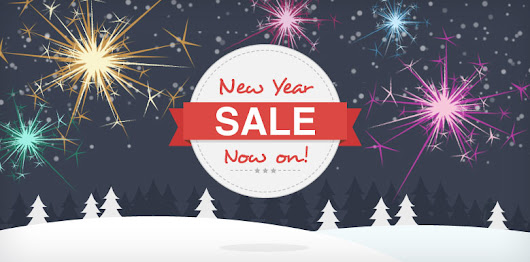 New year sale - The biggest sale of the year where a person can choose across 1000 of products from various merchants.
