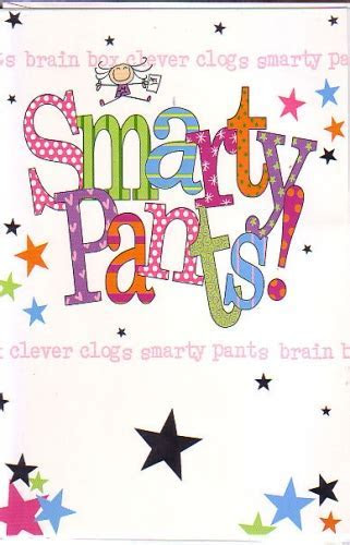 Smarty Pants Girl Tactile Personalised Braille Greeting Cards