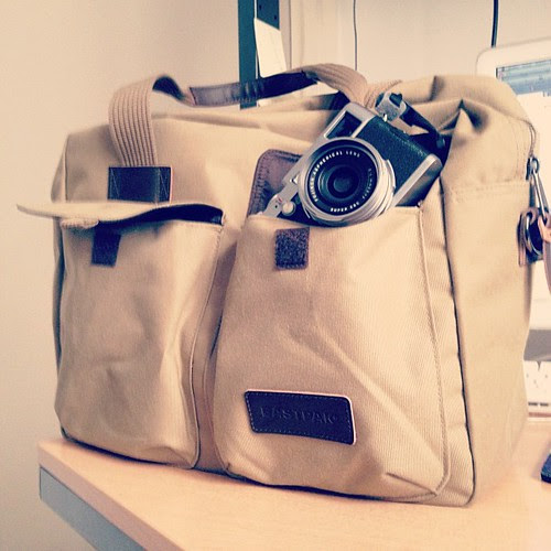 #iphone4s #instagood #instamood #eastpak #fujifilm #x100 #gotoweekend by photo & life™