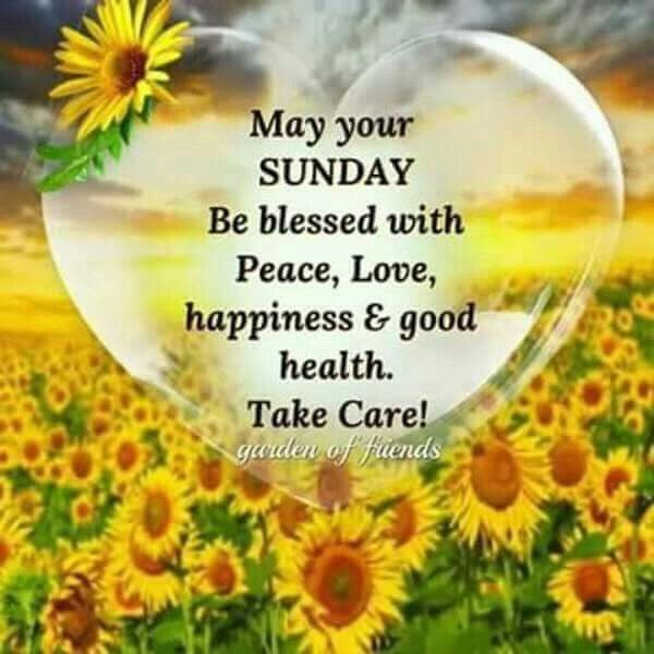 May Your Sunday Be Blessed With Peace And Love Pictures Photos And