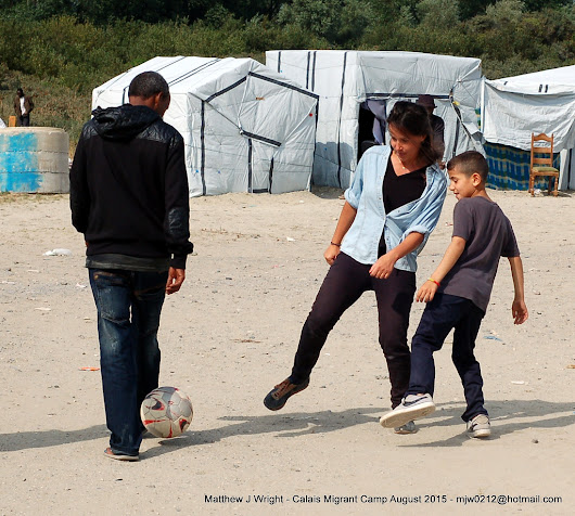 Photos and story about the Calais Refugees Jungle Camp August 2015 - Life In Another Town