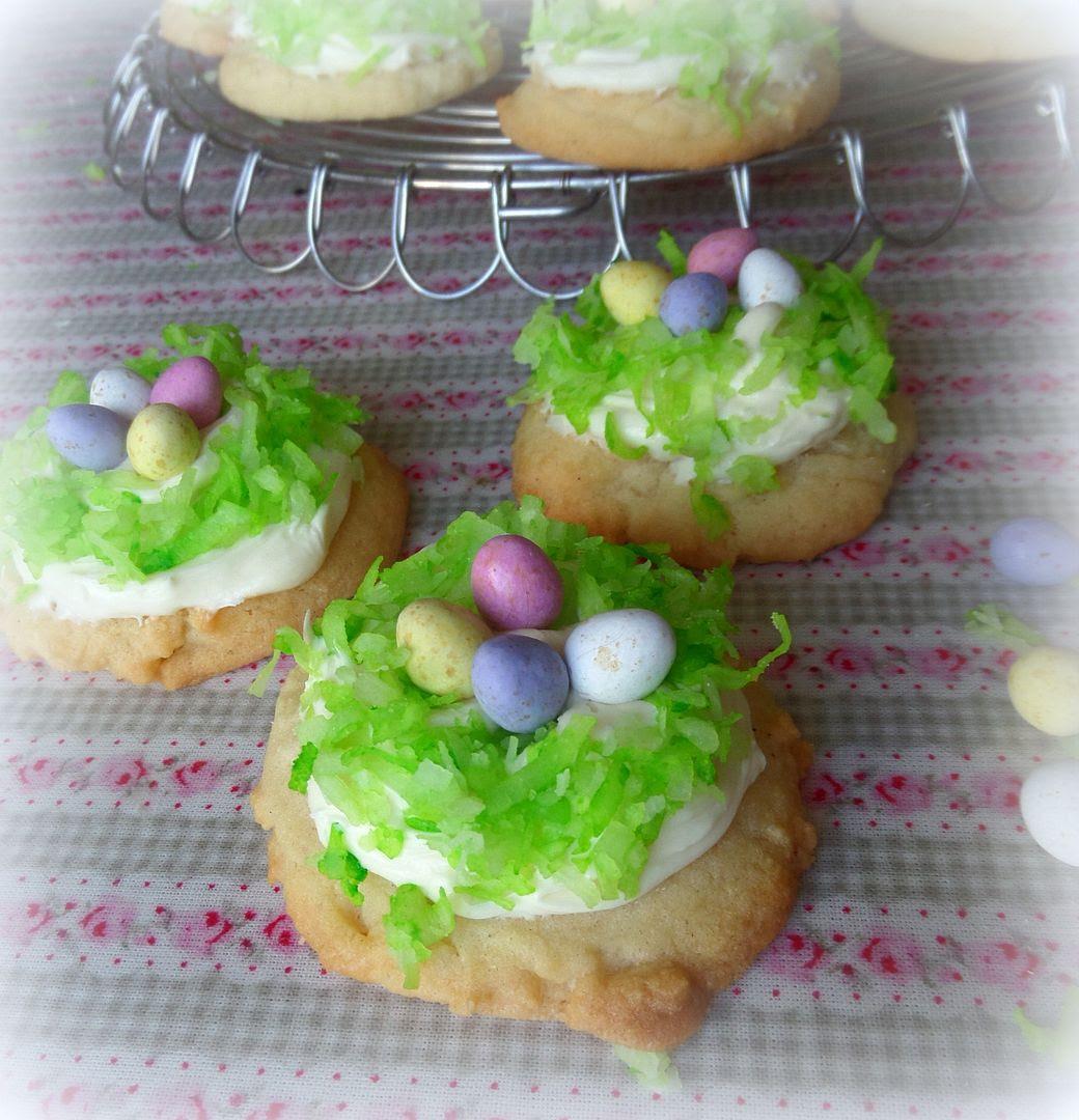 Easter Basket Sugar Cookies