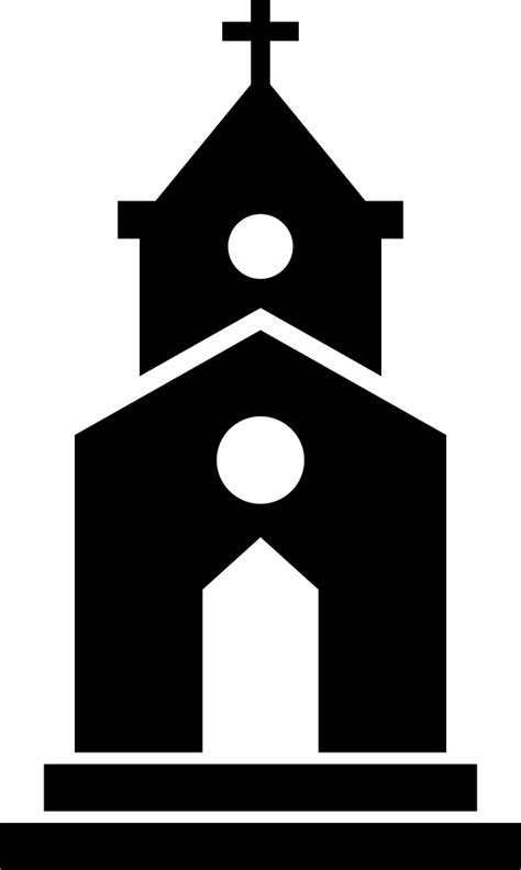 Church Svg Png Icon Free Download (#66608
