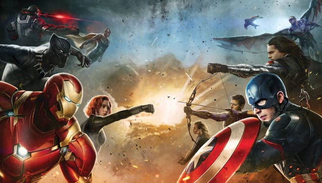 Estos son los equipos de superhéroes que se enfrentan en Captain America: Civil War
